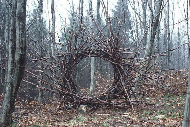 Andy-Goldwworthy-Woven-Branch-Circular-Arch-Dumfrieshire-1986.jpg (1000×672)