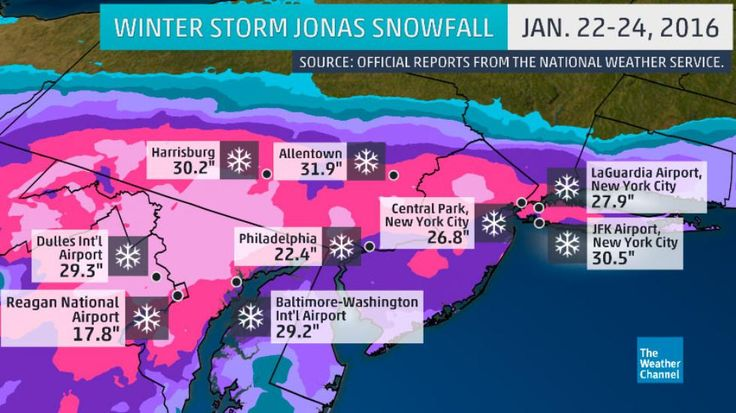 Winter Storm Jonas: Where Does it Rank Historically? | The Weather Channel