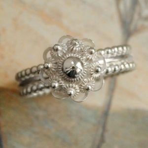 Zeeuwse knoop ring