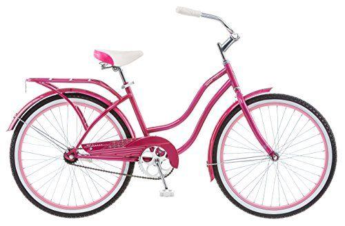 Schwinn Girl's Cruiser Bike, 24-Inch, Pink Schwinn http://www.amazon.com/dp/B00P0IMW7Q/ref=cm_sw_r_pi_dp_SRvWwb0Q2XEJH