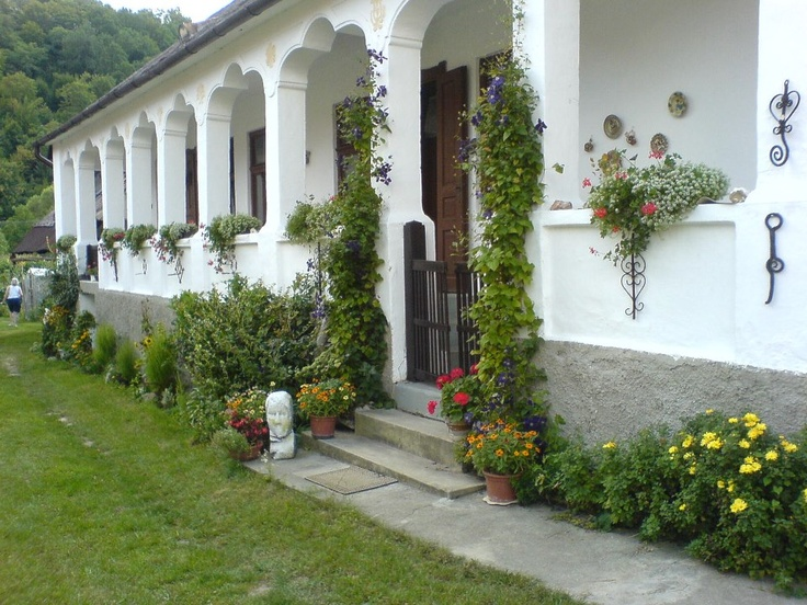 tornácos ház, Magyarország