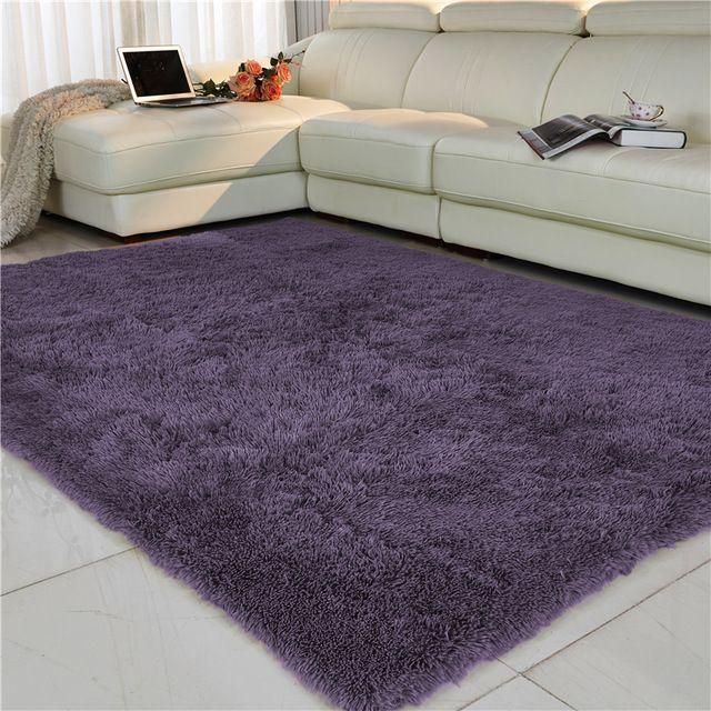 living sillon blanco alfombra shaggy - Buscar con Google
