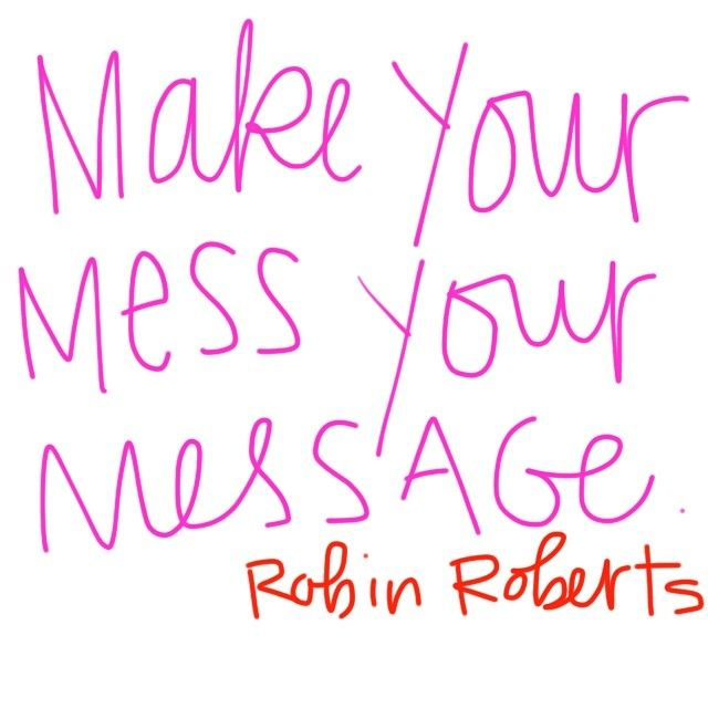 Yes, lawd. The things I have learned through my mess… #robinroberts #masterclass @oprah