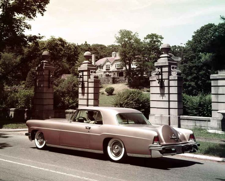 The 1957 Lincoln Continental Mark II. The second, and last, year of the Mark II production featured the finest quality Bridge of Weir leather, a material that is still used on Lincoln vehicles today.