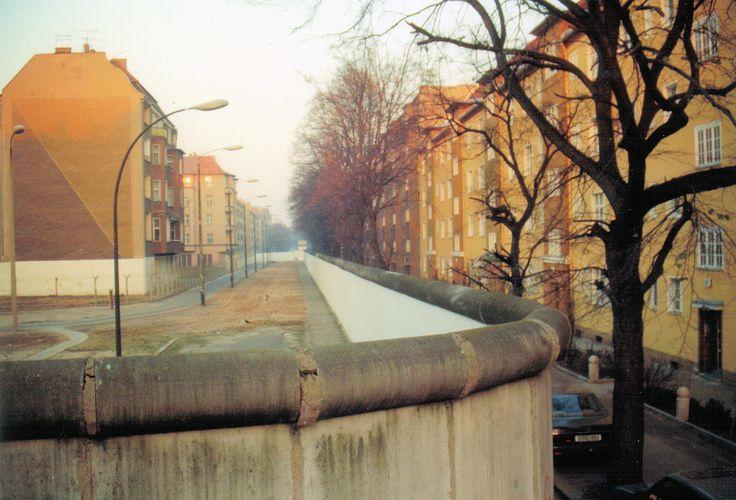 Bouchéstraße-Harzer Straße - Berliner Mauer, 1989-11-18 -  Berliner Mauer –