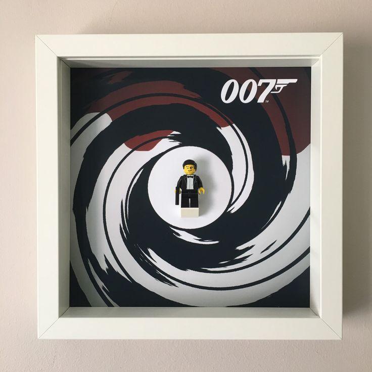 James Bond Minifigure Frame