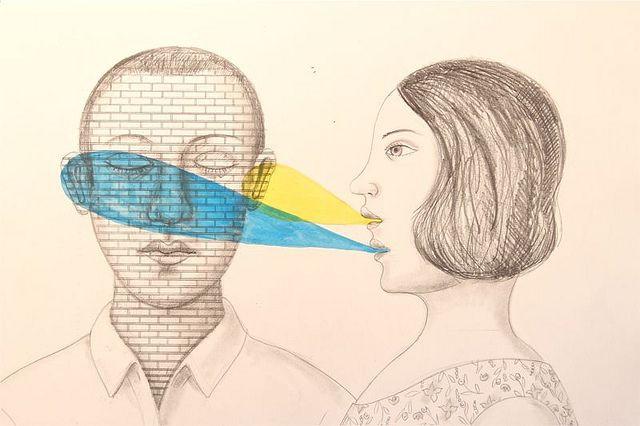 you are not listening by {studiobeerhorst}-bbmarie, via Flickr