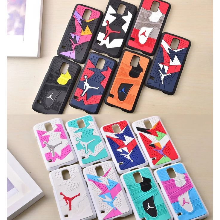 2016 3D Rubber Jordan Sneaker Shoes Sole Phone Cases for Samsung Galaxy S5 I9600 Silicone Michael Jordan Case Cover