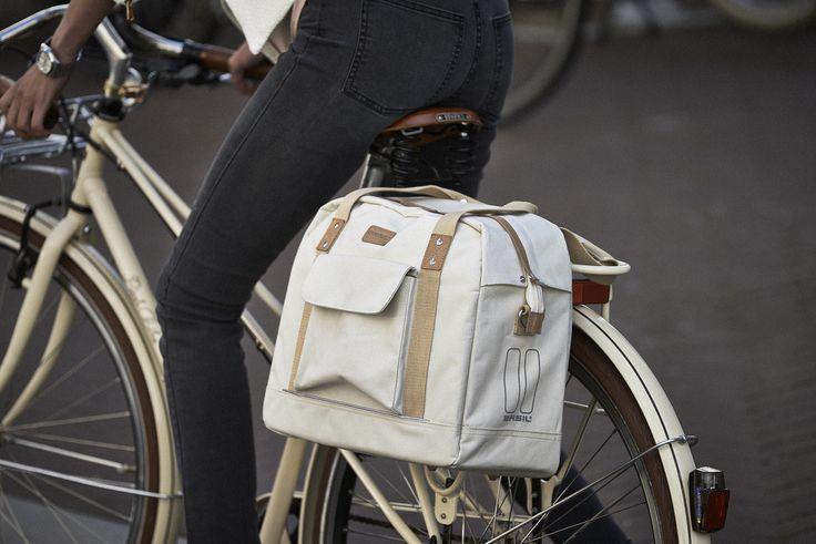 Sacoche vélo simple Portland Business Women 19L - Basil, en vente sur Hollandbikes.com