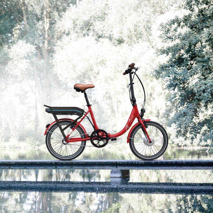 Le Peps, le vélo électrique pliant et élégant d'O2Feel. #véloElectriqueLéger