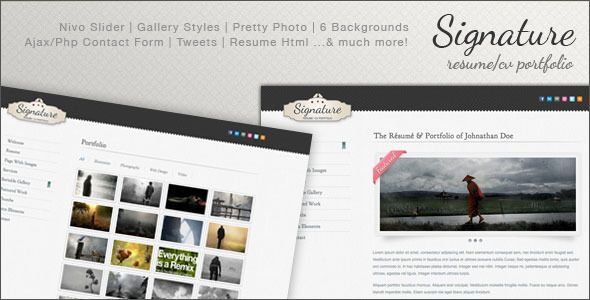 31 best Website Resume Templates images on Pinterest A more - html resume
