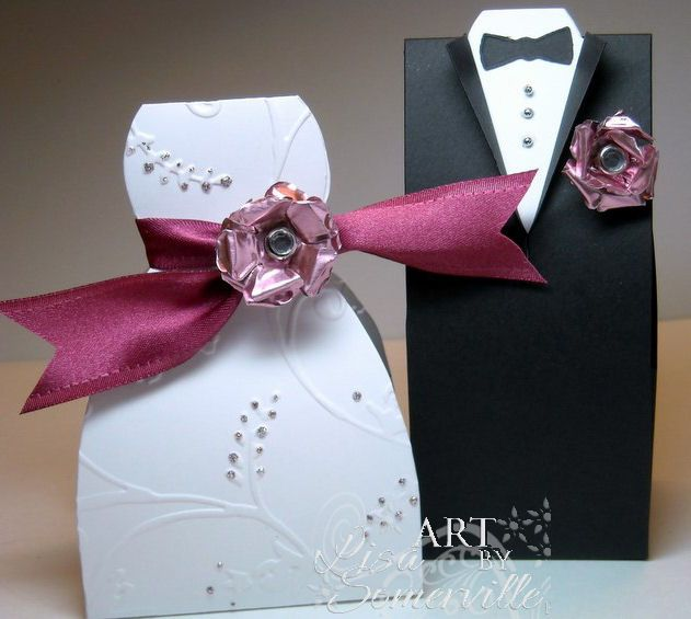 Bride Dress Template | to create the bridal dress i embossed the white dress box with the ...