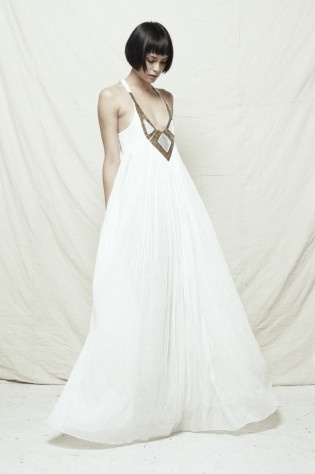 The First Time dress. Beautiful wedding dress inspiration ;-) (sass & bide S/S 2010)