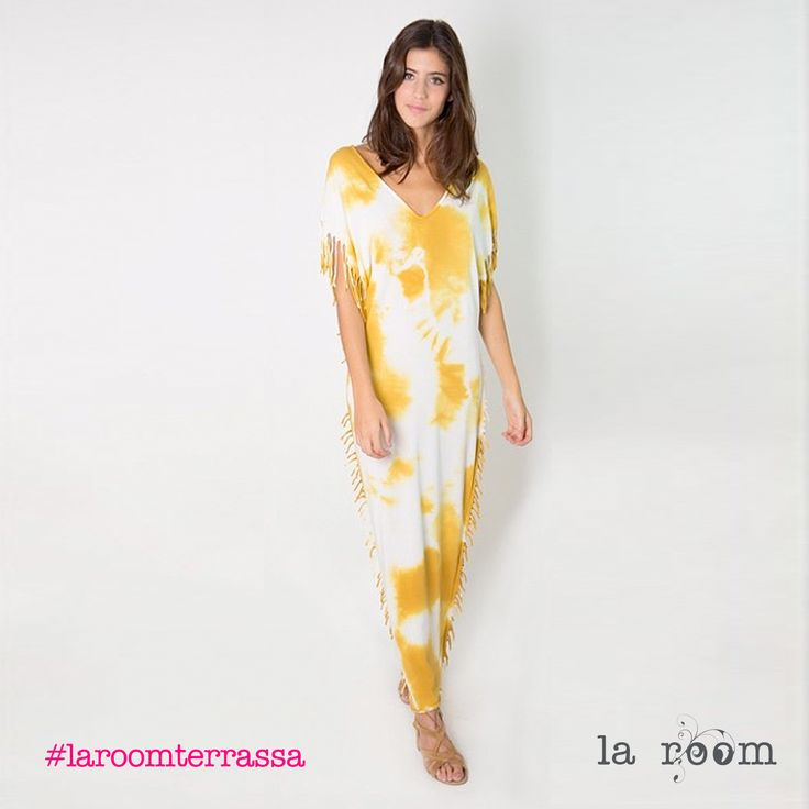 Tie dye al poder!!! Maxivestido tie dye spring summer 2016