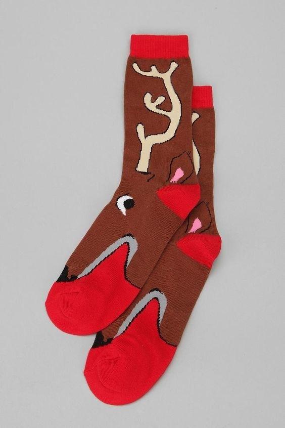 Reindeer Socks | 12 Wacky Socks For The Christmas Enthusiast