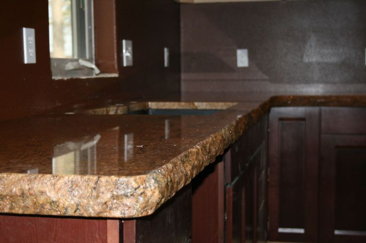 1000 Images About Chiseled Edge Countertops On Pinterest