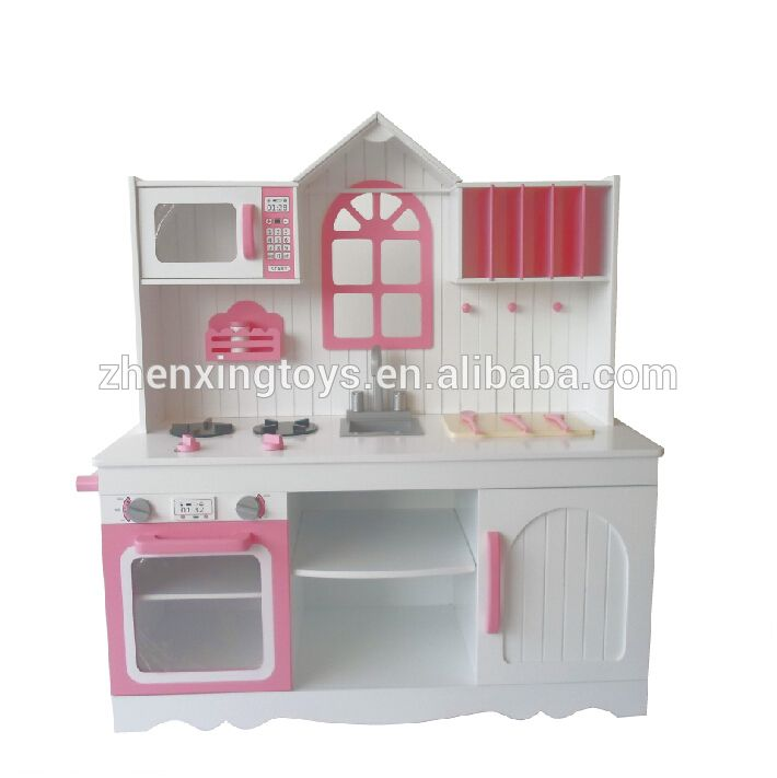2017 New Por Kids Wooden Kitchen Toy