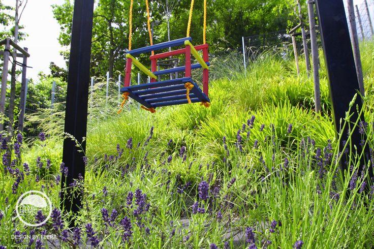#landscape #architecture #garden #meadow #swing