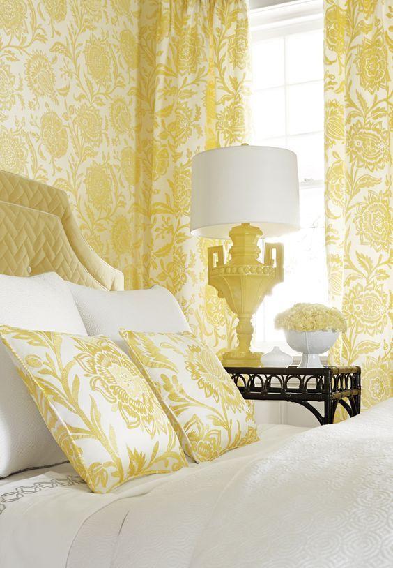 Mejores 76 im genes de interiores color amarillo en - Habitaciones amarillas ...