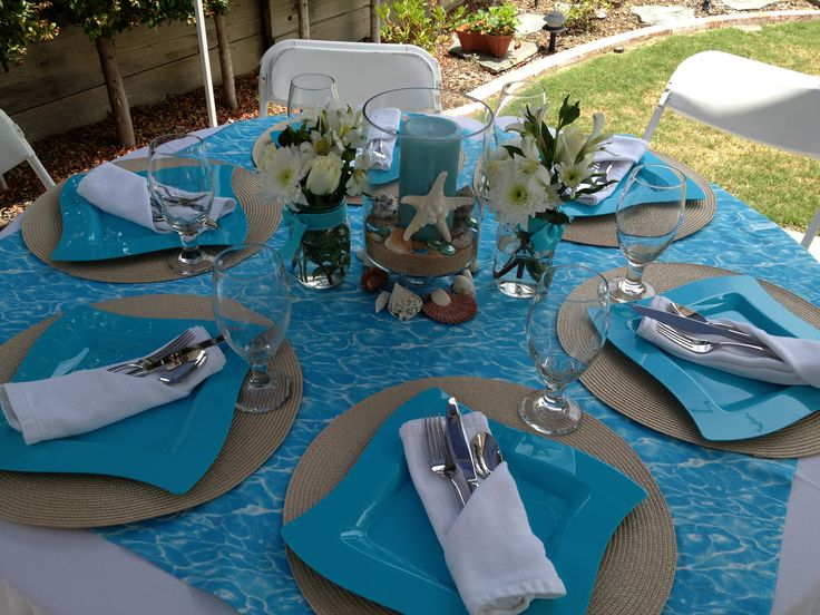 5 Ideas For A Great Beach Themed Wedding In Puglia: Centerpieces And Tablescapes