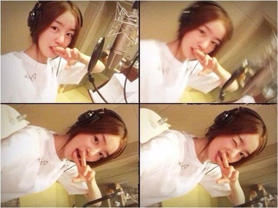 Secret Han Sunhwa Posts Secretive Recording Studio Selfies http://www.kpopstarz.com/articles/99728/20140717/secret-han-seon-hwa-posts-secretive-recording-studio-selfies.htm