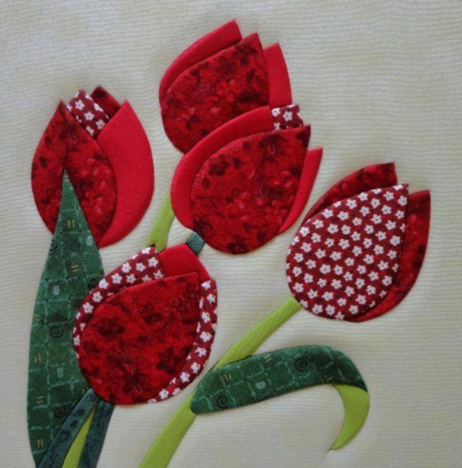 Панно из цветов техникой кинусайга