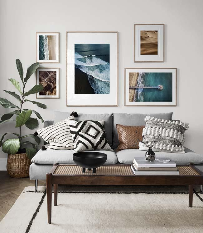 Gallery Walls Picture Wall Living Room Gallery Wall Living Room Living Room Pictures