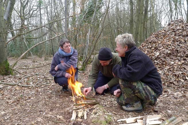 Bushcraft Essentials Course. Learn the most essential bushcraft skills on this 2-day course. #bushcraft #training #weekend #course £229 Find out more here: frontierbushcraft.com/courses/bushcraft-essentials/