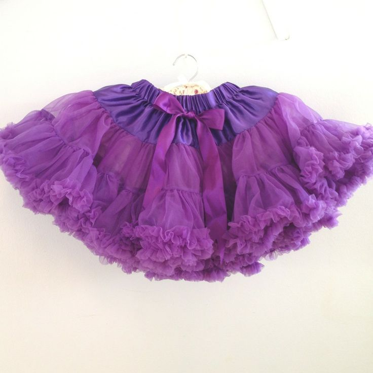Petitskirt - Lila tyllkjol med flera lager tyll.  Ett måste för alla små prinsessor!