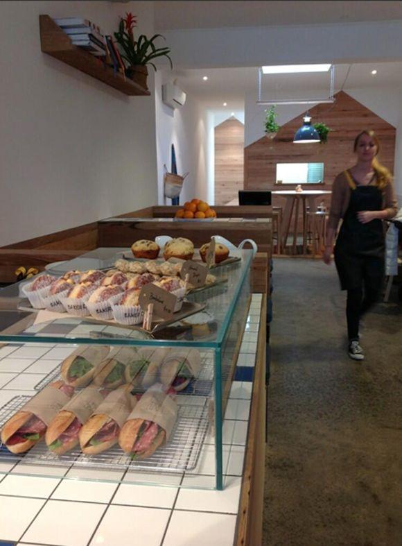 Little Tommy Tucker's in Bentleigh. Mushrooms with fetta on Toast :)