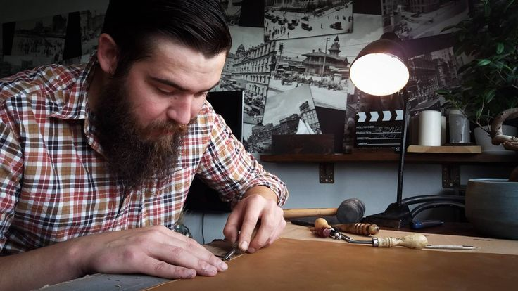 #leather #letaherworking #DIY #beard #handmade #steelrabbit