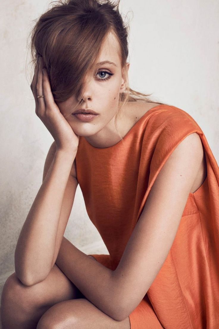 #houseofbeauty | Frida Gustavsson Fronts Tiger of Sweden's Spring 2013 Campaign