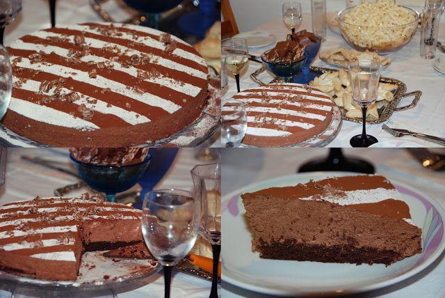 VillaNanna: Suklaa-tryffelikakku joulupöydän kruunu