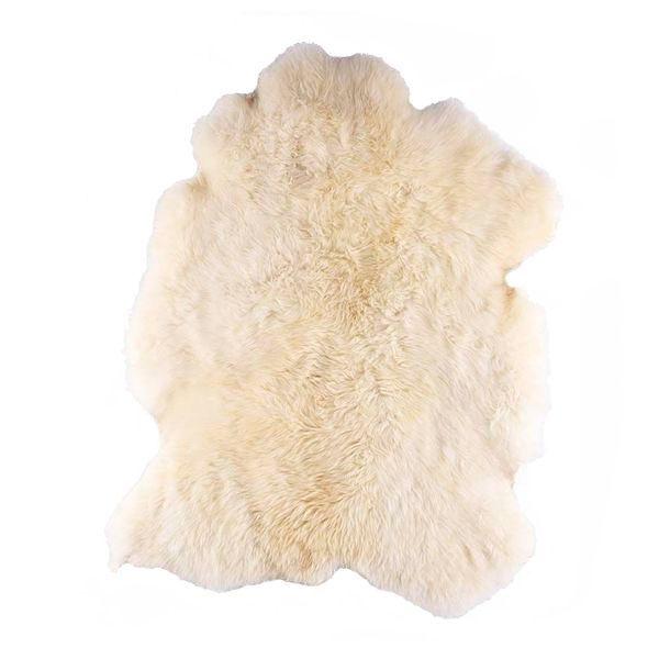 Lã Natural | Lã natural de ovelha. Pode ser usada sobreposta em poltronas, sofás, cadeiras, etc. Frequentemente usadas por pilotos de avião pelo seu efeito relaxante. O tamanho da pele e a altura dos pêlos podem variar por ser um produto natural.