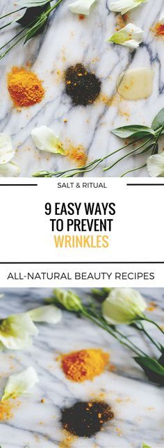 Yes, you can definitely prevent wrinkles naturally...and easily. What you do in your teens and twenties plays a big part in the condition of your skin well into your 30s and 40 and beyond. In this article we're going to look at nine ways to prevent wrinkl
