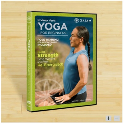 Rodney Yee's Yoga For Beginners And Kit - Long Legs; Short Dresses. That's my motto. I love my yoga legs.