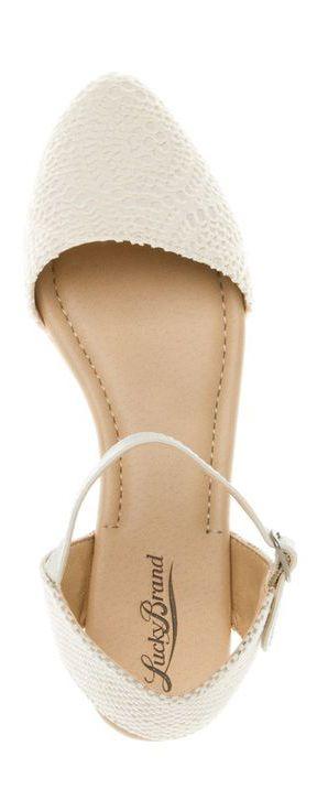 White Close Toe Sandals