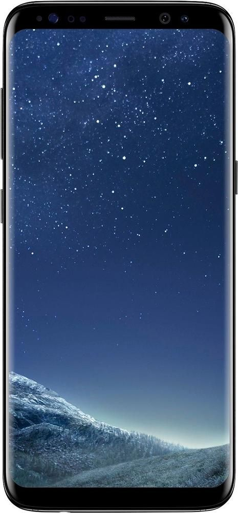 Cricket Wireless - Samsung Galaxy S8 4G LTE 64GB Prepaid Cell Phone - Midnight Black