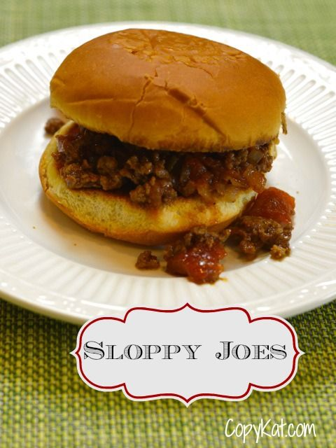 Sloppy Joes Recipe  - Learn to Cook Series.  This recipe is perfect for beginner cooks.