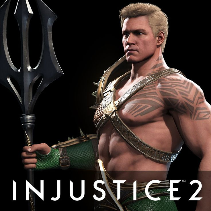 Aquaman - Injustice 2, Ian Naud on ArtStation at https://www.artstation.com/artwork/BWVJm