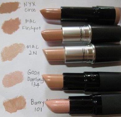 Best nude lip colors