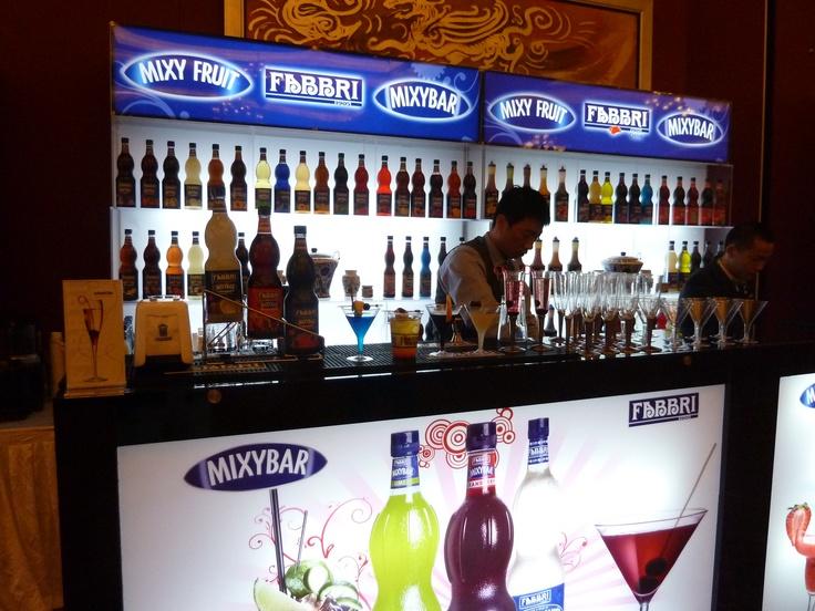 Fabbri 1905 at World Cocktail Championship  - Pechino 2012
