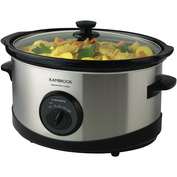 Shop Online for Kambrook KSC120 Kambrook Deluxe 6L Slow Cooker and more at The Good Guys. Find bargain buys and bonus offers from Australia's leading electrical & home appliance store.