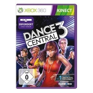 DANCE CENTRAL 3 - KINECT - XBOX 360 - NEU