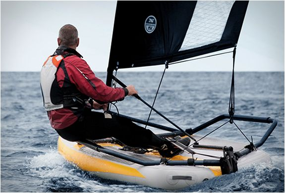 TIWAL is the very first high performance inflatable sailing dinghy,