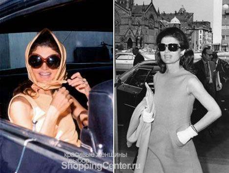 Стиль Жаклин Кеннеди, очки Джеки Кеннеди Онассис, фото