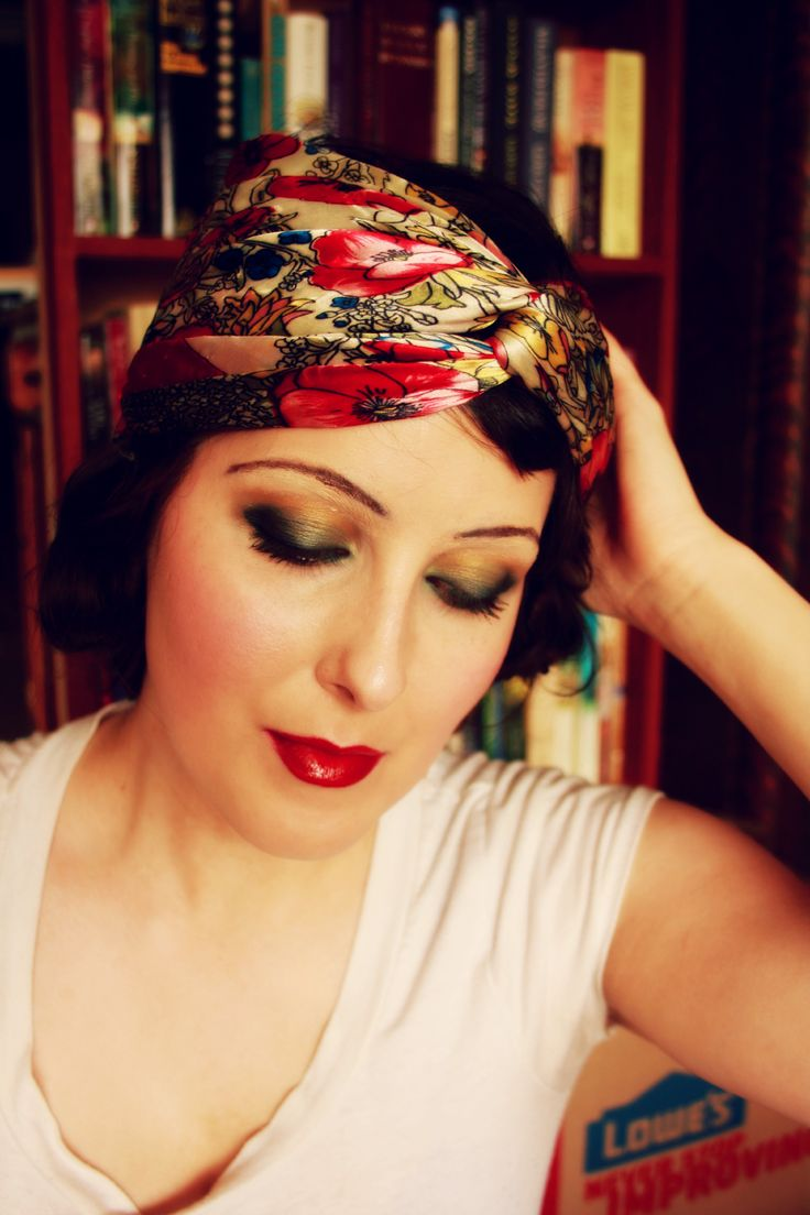 How to: Authentic 1920's Flapper Makeup | www.eccentricowl ...