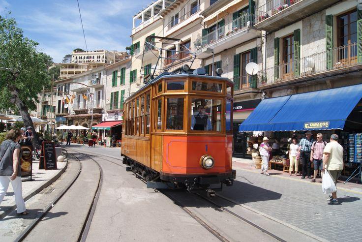 Trams de Porto-Soller (Espagne)