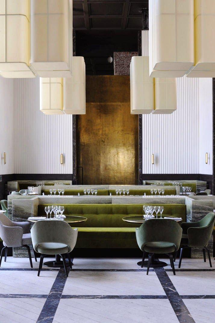 Monsieur Bleu In Palais De Tokyo #paris #restaurant ##josephdirand  #interiordesign