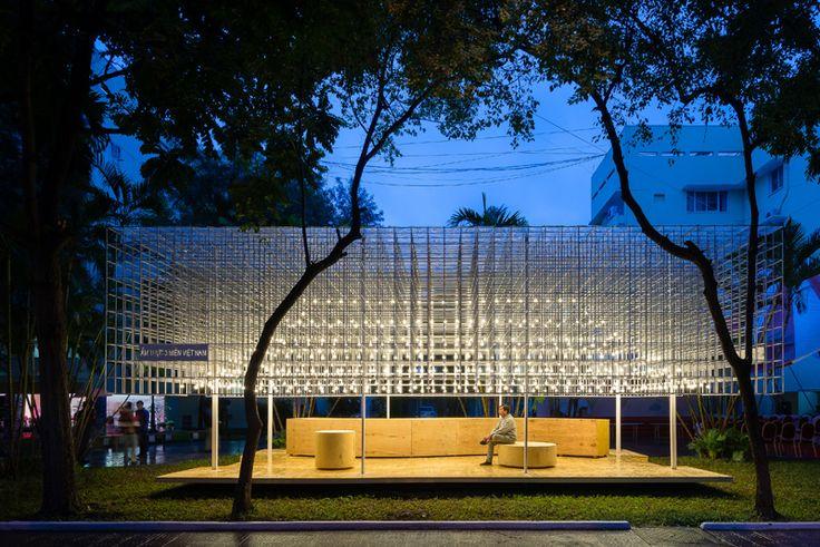 14 Photos Of A Vietnamese Food Pavilion Designed By MIA Design Studio